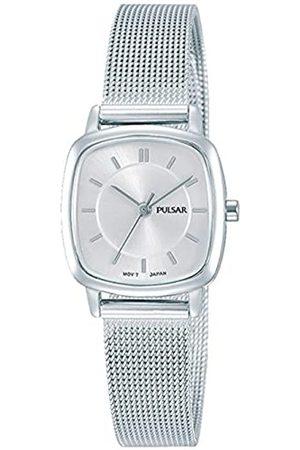 Pulsar Pulsar Quarz Damen-Uhr Edelstahl mit Metallband PH8375X1