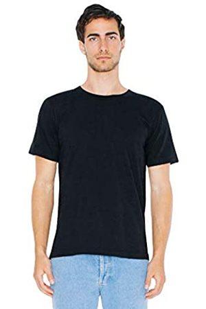 American Apparel T-Shirts - Unisex-Erwachsene Fine Jersey Crewneck Short Sleeve, 2-Pack T-Shirt