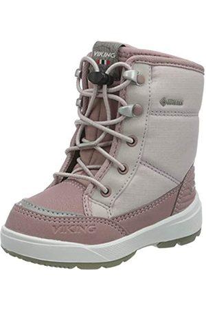 Viking Viking Unisex Kinder Fun GTX Schneestiefel Schnee Schneestiefel, Light Lilac/Dusty Pink