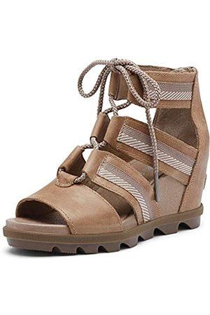 sorel Women's Joanie II Lace Wedge Sandals