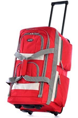 Olympia Reisetasche mit 8 Fächern. - SRD -26-Red-One Size