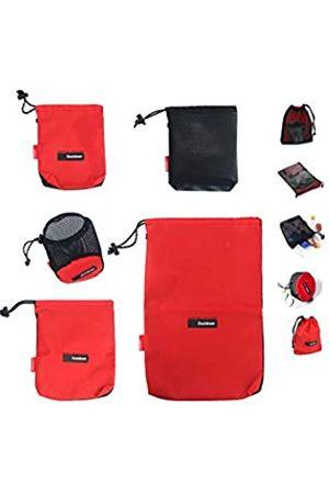 OVOY- Kordelzug-Taschen/Beutel/Ditty/Mesh-Stuff Sack für Camping/Reisekordel / Tasche – Aufbewahrung 5-in-1 Reise Verwendung Nylon 5 Stück