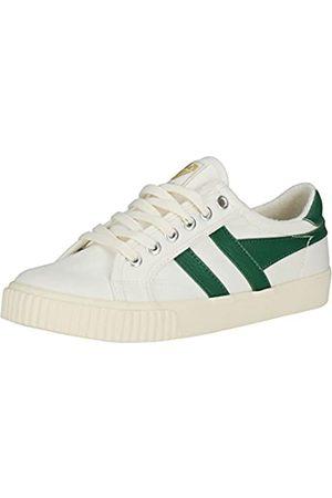 Gola Damen Tennis Mark Cox Sneaker, (Off White/dk.Green Wn)
