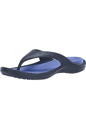 Crocs Unisex-Erwachsene Flip Flops Zehentrenner, (Navy/Cerulean)