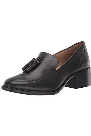 Naturalizer Women's Palmer Slip-Ons Loafer, Black Leather