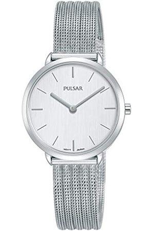 Pulsar Pulsar Quarz Damen-Uhr Edelstahl mit Metallband PM2279X1