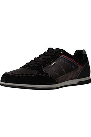 Geox Herren U Renan B Sneaker, (Black/Mud C9355)