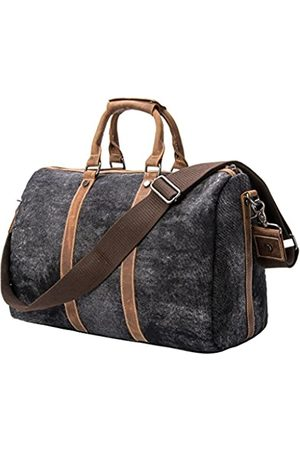 TMOUNT Tmount Einzigartige Vintage-Reisetasche, Segeltuch, Leder