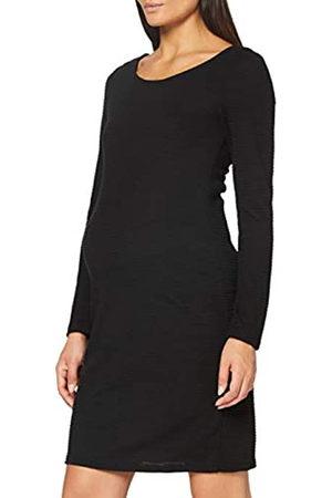 Noppies Damen Dress ls Zinnia Kleid, Black-P090