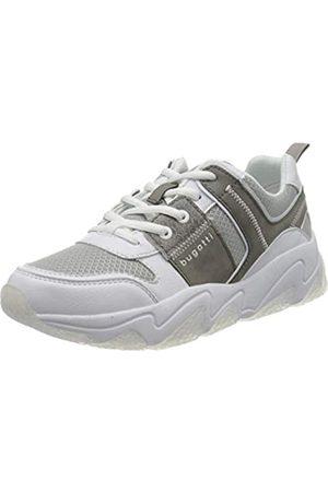 Bugatti Damen 432846075069 Sneaker, White/Grey