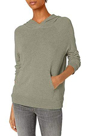 Daily Ritual Damen Sweatshirts - Sandwashed Modal Blend Popover Hooded Sweatshirt Athletic-Shirts