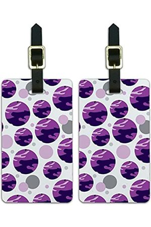 Graphics and More Graphics & More Camouflage Camouflage Armee Muster Traditionell Violett (Weiß) - Luggage.Tags.08496
