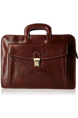 Alberto Bellucci Italian Leather Portfolio Brief Case Single Compartment for Documents