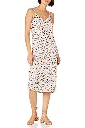 Daily Ritual Georgette Fluid Drape Standard-Fit Slip Dress Kleid XXL