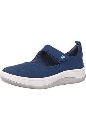 Clarks Damen Arla Air Sneaker, (Navy)