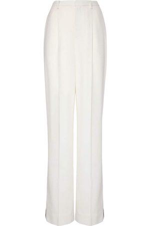 Ralph Lauren Damen Lange Hosen - Smokinghose Aus Lurex/wollkrepp