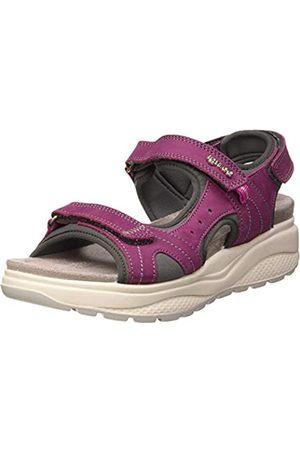 IGI&CO Damen Sandalo Donna Dez 51836 Plateau Sandalen, Pink (Gelso 5183622)