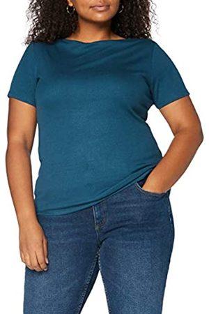 MERAKI Amazon-Marke: Damen T-Shirt mit U-Boot-Ausschnitt 34