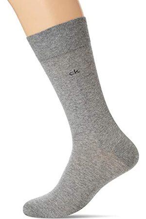 Calvin Klein Socks Mens Herren 4er Pack Uni, Mehrfarbig (Black Graphite/Charc), 40/46 (4erPack) Socks