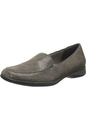 FrenchTrotters Women's Jenn Mini Loafer,Dark Grey