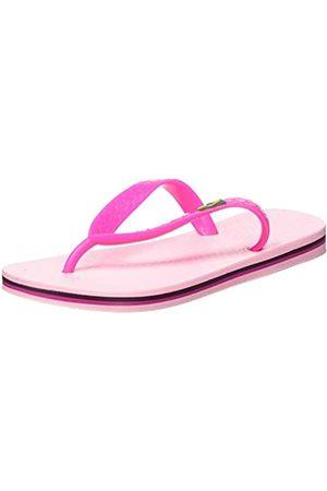 Ipanema Jungen Unisex Kinder Classic Brasil II Kids Zehentrenner, 9076 pink/pink
