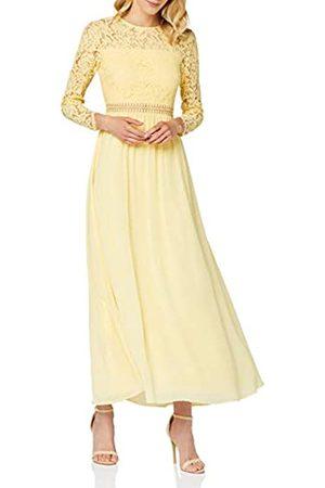 TRUTH & FABLE Amazon-Marke: Damen Maxi A-Linien-Kleid aus Spitze, 44