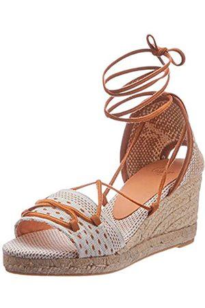 Castaner Damen Becky Sneaker, Crudo/Marron