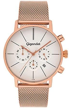 Gigandet Minimalism Herren-Armbanduhr Chronograph Quarz Analog mit Edelstahlarmband G32-007