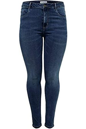 Carmakoma Female Skinny Fit Jeans Curvy Caraugusta HW 5434Medium Blue Denim