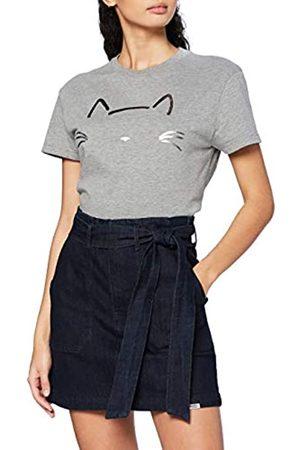 Lee Cooper Damen Paperbag Jeans Skirt Rock