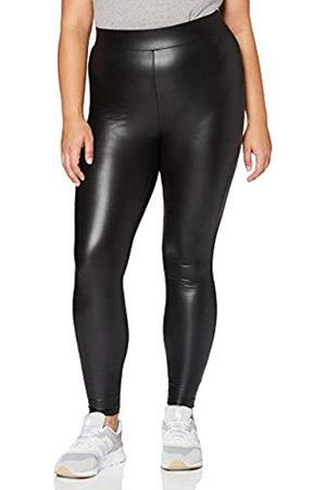 Carmakoma Damen CARROOL Coated Legging NOOS Jeans, Black