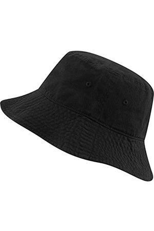 The Hat Depot Fischerhut aus 100 % Baumwolle mit langer Krempe und tiefer verstaubarer Sommer-Reise. - - S/M