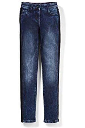 s.Oliver S.Oliver Mädchen Regular Fit: Slim Leg-Jeans dark blue 158.REG