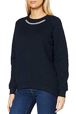 Mexx Womens with Decoration Chain at The Neck Sweatshirt
