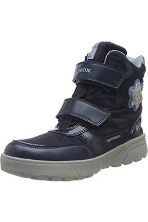 Geox Geox J SVEGGEN Girl B ABX Snow Boot, Blau (Navy/Sky)