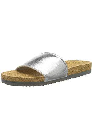 flip*flop Flip*flop Damen poolcorgi Sandale, Silber (Silver)
