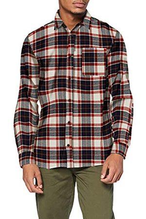 JACK & JONES Herren JJPLAIN PRE Check Shirt LS Hemd