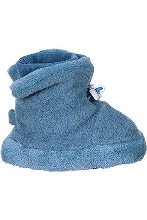 Sterntaler Sterntaler Baby-Schuh, Jungen Krabbelschuhe, Blau (Mittelblau Mel. 375)