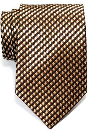 Retreez Herren Gewebte Krawatte Wellig Zick-Zack Gestreifte 8 cm