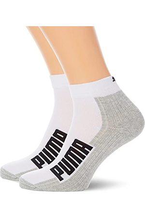 PUMA Herren Cushioned Quarter 2P Socken