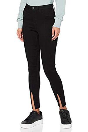 Noisy May Damen NMCALLIE HW ANK Slit Detail BL BG Jeans