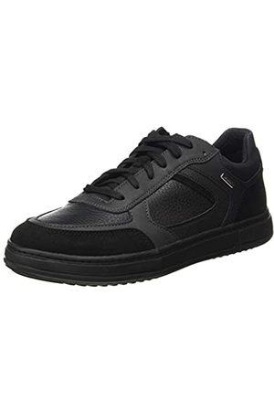 Geox Herren U LEVICO B ABX B Sneaker, Black/Black