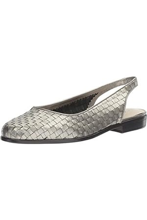 FrenchTrotters Women's Lucy Flat, Pewter