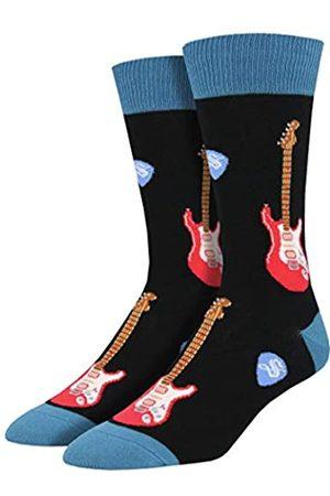 Socksmith Herren Socken & Strümpfe - Men's Electric Guitar Socks