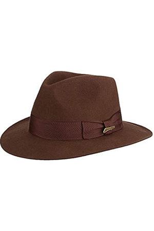 Dorfman pacific Herren Hüte - Indiana Jones Herren Wollfilz Fedora - - X-Large