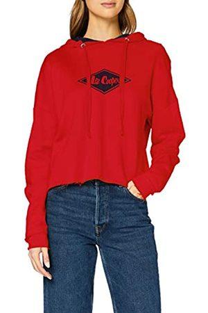 Lee Cooper Damen Diamond Logo Hoodie Pullover