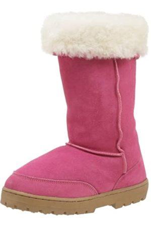 Chooka Damen Shearling Hohe Stiefel, Pink (hot pink)
