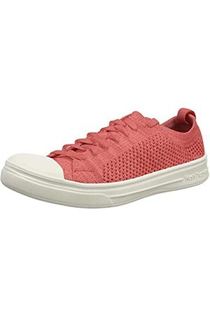 Hush Puppies Damen Schnoodle Sneaker, Pink (Coral Coral)