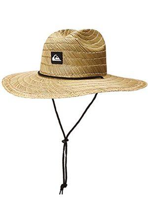 Quiksilver Herren Pierside Lifeguard Beach Sun Straw Hat Sonnenhut, Natur/