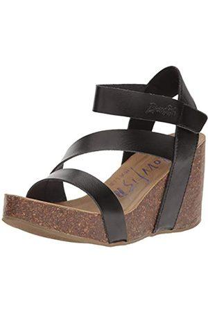 Blowfish Damen Hapuku Keilabsatz-Sandale, Farbe: